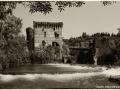 Borghetto sul Mincio, fotografie viraggio seppia