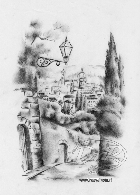 Paesaggi a matita archivi rosy di noia for Paesaggi semplici da disegnare