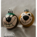 pallina di Natale Yoghy e Bubu