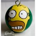 pallina di Natale Omer Simpson