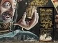 scrittura su muro