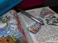 Scrivere sul diario.