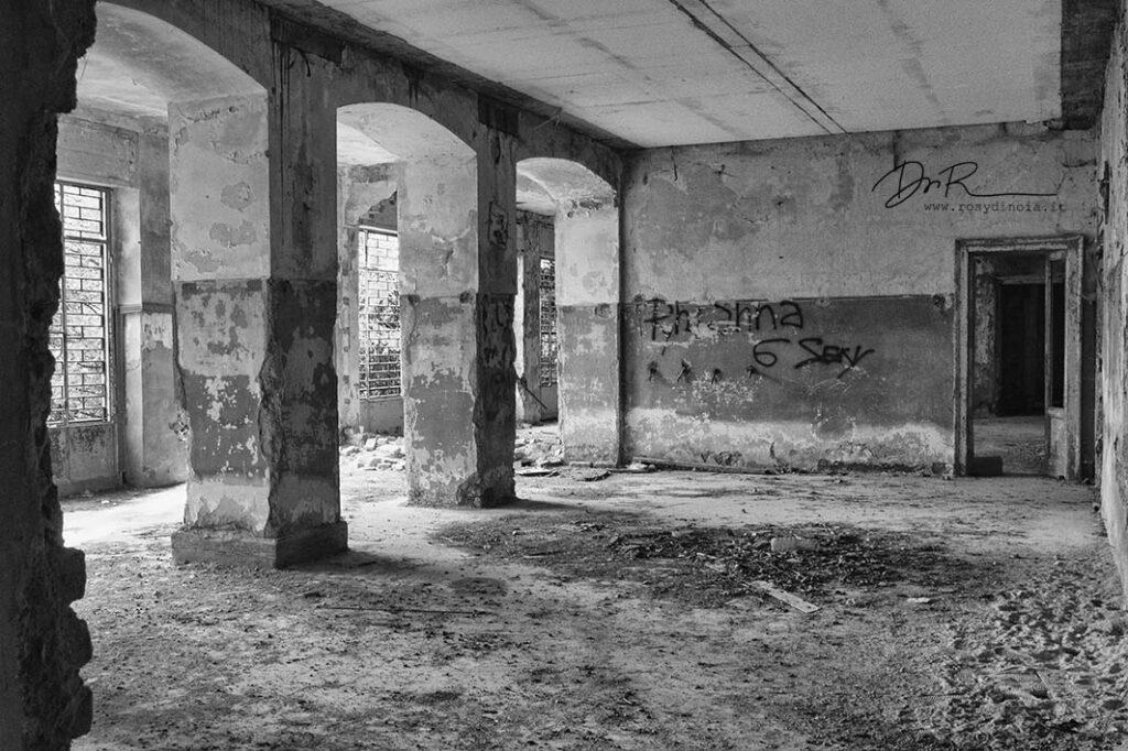 fotografia in bianco e nero dell'Istituto Padre Beccaro